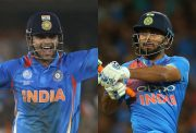 Suresh Raina and Rishabh Pant