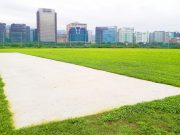 Yingfeng Cricket Ground in Songshan District