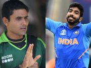 Abdul Razzaq and Jasprit Bumrah