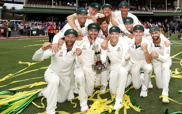 Australia replace India at top of world Test rankings