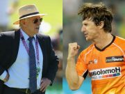 Ian Chappell and Brad Hogg
