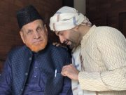 Irfan Pathan and his father