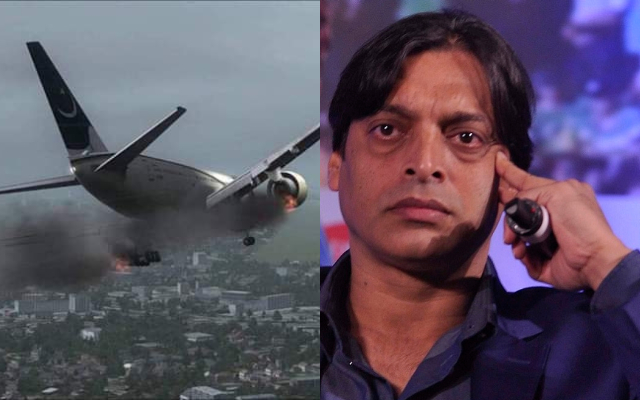 Karachi plane crash and Shoaib Akhtar