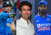 MS Dhoni, Mohammad Kaif and KL Rahul