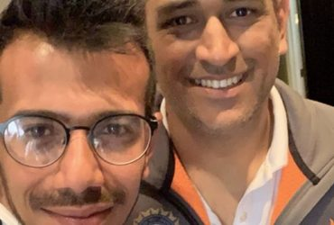 MS Dhoni and Yuzvendra Chahal