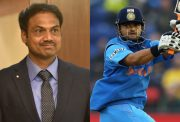 MSK Prasad and Suresh Raina