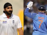 Monty Panesar and MS Dhoni