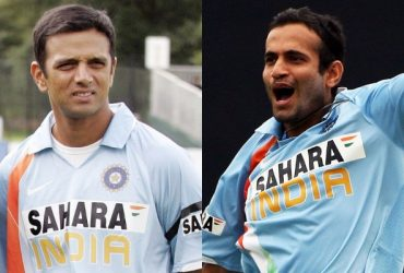 Rahul Dravid and Irfan Pathan