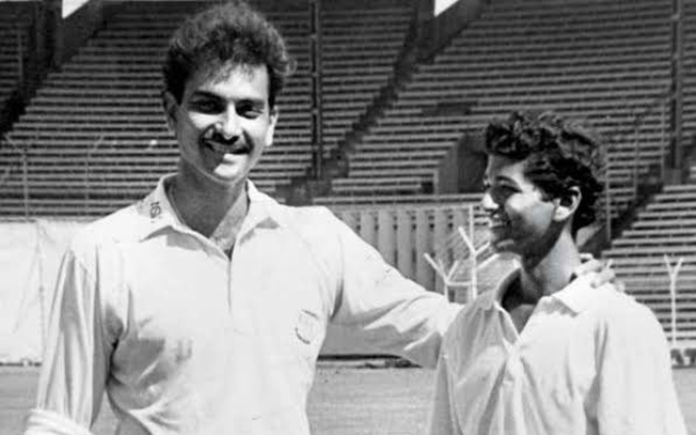 Ravi Shastri and Amol Muzumdar