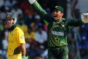 Ricky Ponting and Kamran Akmal