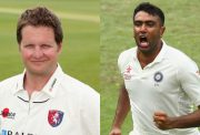 Rob Key and Ravichandran Ashwin