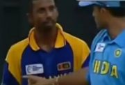 Russel Arnold and Sourav Ganguly