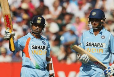 Sachin Tendulkar and Sourav Ganguly
