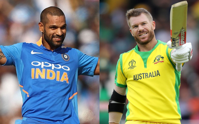 I opened for Team India in all three formats' - Shikhar Dhawan responds to David  Warner's 'he doesn't like to face pacers' comment