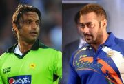 Shoaib Akhtar and Salman Khan