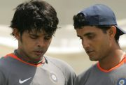 Sreesanth and Sourav Ganguly