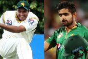 Tanvir Ahmed and Babar Azam