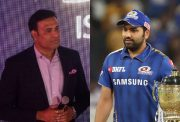 VVS Laxman and Rohit Sharma