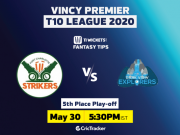 Vincy Premier T10 League 2020 5th Place Play-off, Fort Charlotte Strikers vs Dark View Explorers