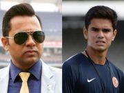 Aakash Chopra and Arjun Tendulkar