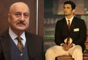 Anupam Kher and Sushant Singh Rajput