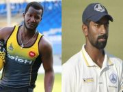 Darren Sammy and Abhinav mukund