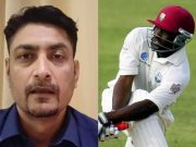 Deep Dasgupta and Brian Lara