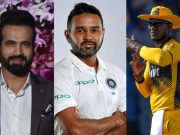 Irfan Pathan, Parthiv Patel and Darren Sammy