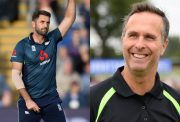 Liam Plunkett and Michael Vaughan