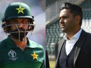 Mohammad Hafeez and Wasim Khan