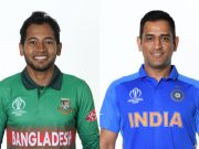 Mushfiqur Rahim and MS Dhoni