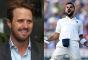 Nick Compton and Virat Kohli
