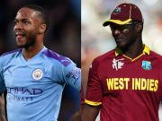 Raheem Sterling and Darren Sammy