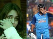 Ritika Sajdeh and Rohit Sharma