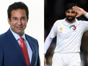 Wasim Akram and Misbah ul Haq
