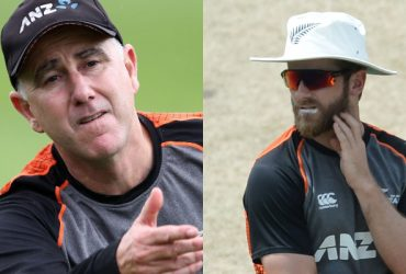 Gary Stead and Kane Williamson
