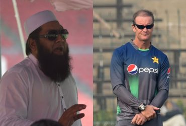 Inzamam-ul-Haq and Grant Flower