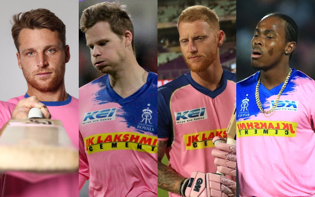 Jos Buttler, Steve Smith, Ben Stokes and Jofra Archer