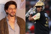 Shah Rukh Khan and Sourav Ganguly