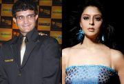 Sourav Ganguly and Nagma