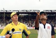 Steve Waugh and Sourav Ganguly