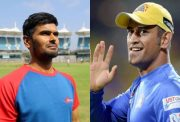 Subramaniam Badrinath and MS Dhoni