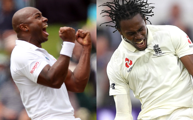 Tino Best and Jofra Archer