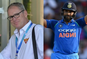Tom Moody and Rohit Sharma