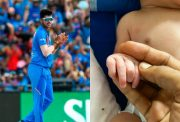 Washington Sundar and Hardik Pandya's newborn baby
