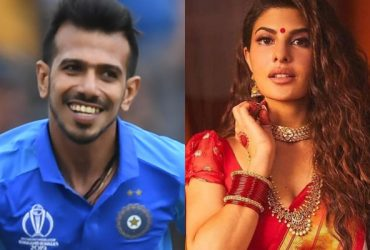 Yuzvendra Chahal and Jacqueline Fernandez