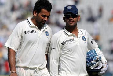 Zaheer Khan and MS Dhoni