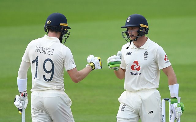 Chris Woakes and Jos Buttler