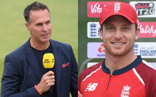 Michael Vaughan hilariously trolls himself while praising 'England's greatest white-ball player' Jos Buttler