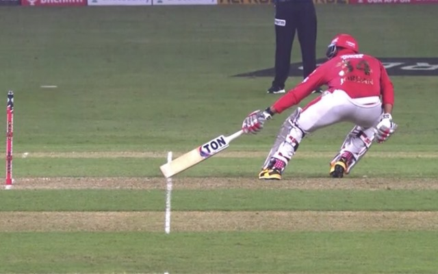 IPL 2020: Umpire controversially signals a short-run in 19th over against DC